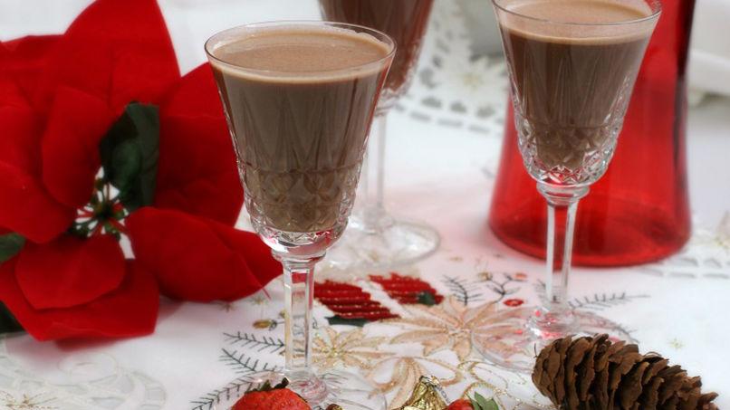 Coquito de Chocolate y Fresa