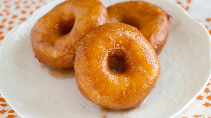 Apple-Spice Doughnuts