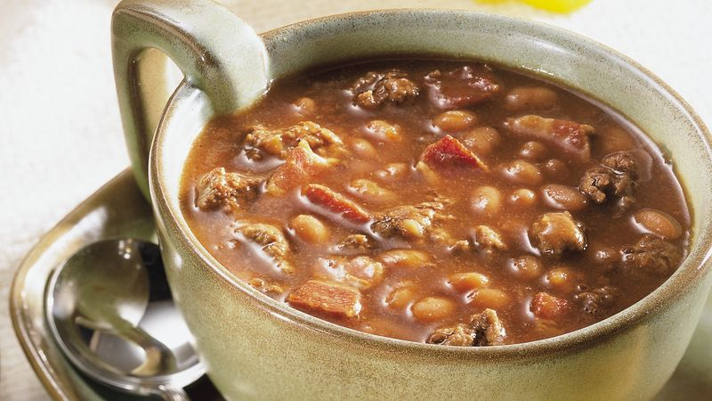 Baked Bean Soup Recipe Bettycrocker Com