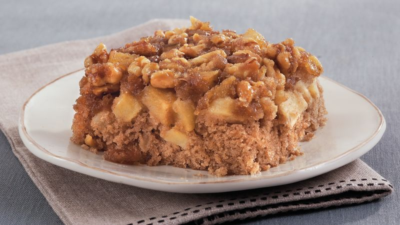 Upside Down Apple Spice Cake Recipe Bettycrocker