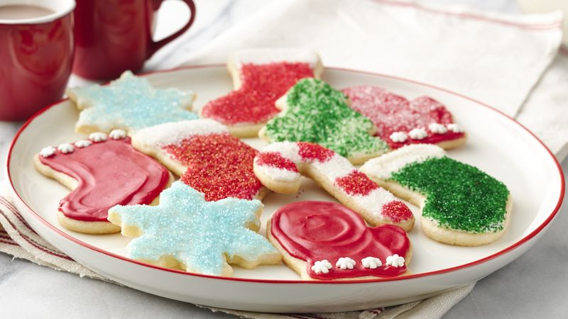 Christmas Cookie Recipes.Easy Christmas Sugar Cookies
