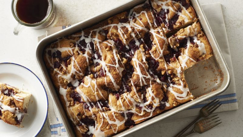 Cranberry-Nut Coffee Cake