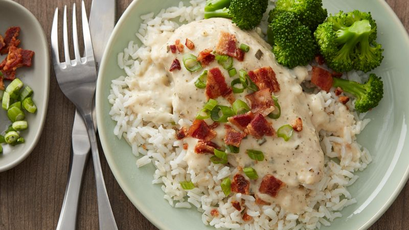 Slow-Cooker Creamy Ranch Chicken