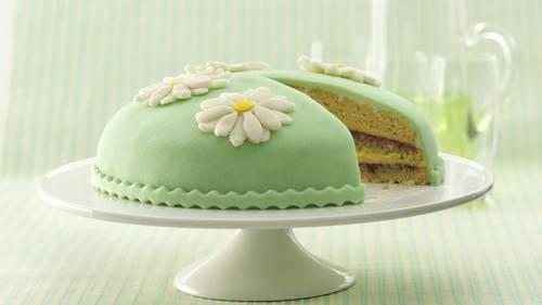 Marzipan cakes recipe