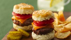 Beef Biscuit Sliders