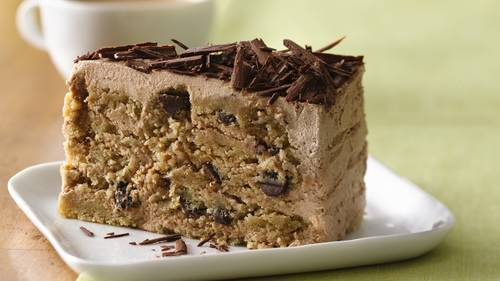 GlutenFree Chocolate Chip Ice Box Cake Recipe BettyCrockercom