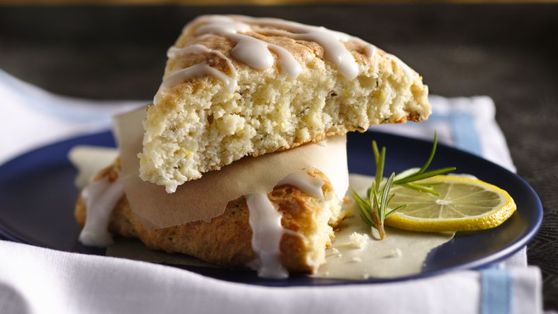 Rosemary-Lemon Cream Scones