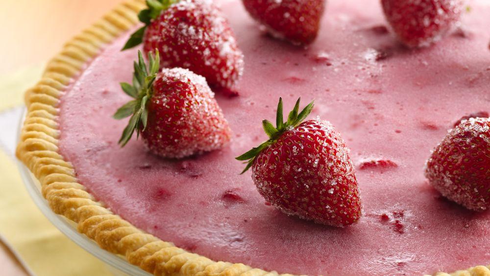 Strawberry Daiquiri Cocktail Pie