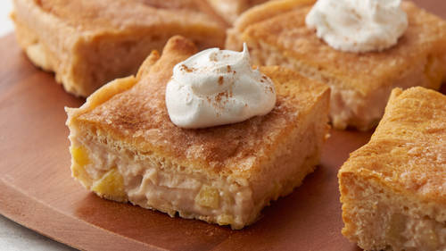 Apple-Cinnamon Cheesecake Bars
