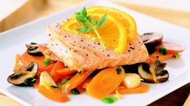 Skinny Salmon and Vegetable Foil-Pack Dinners