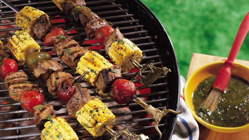 Southwest Steak Kabobs Recipe Pillsbury Com