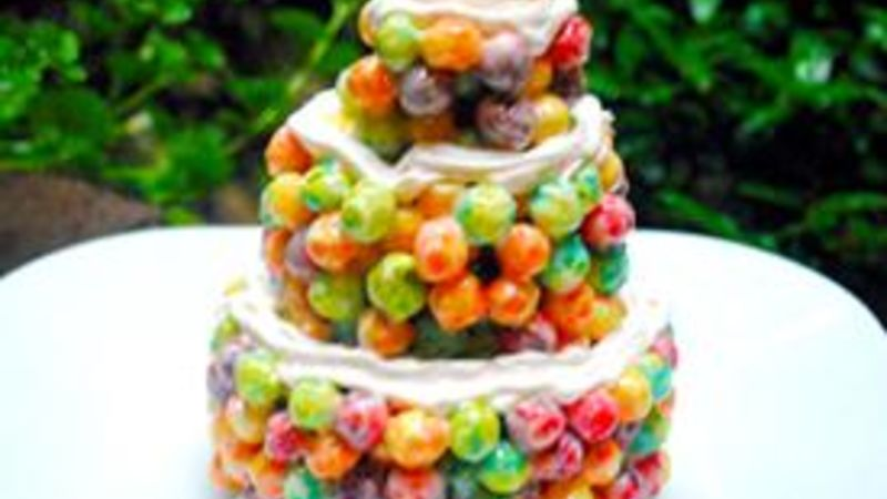 Mini Marshmallow Cereal Cakes