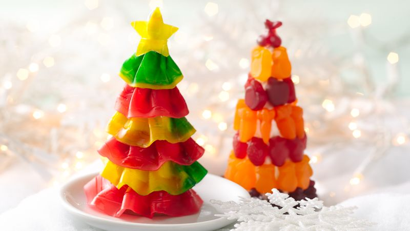 Fruit Flavored Snack Christmas Tree Recipe