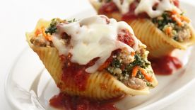 Skinny Sausage-Stuffed Shells