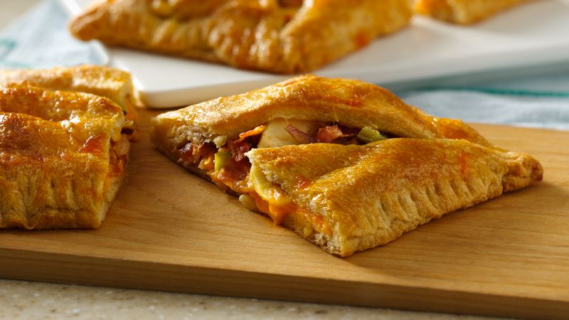Sweet and Spicy Bacon Turkey Crescent Squares