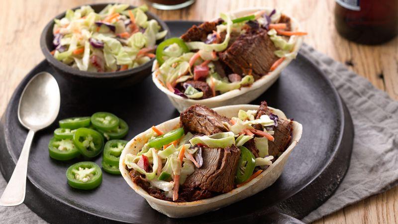 Beef Brisket Taco Bowls