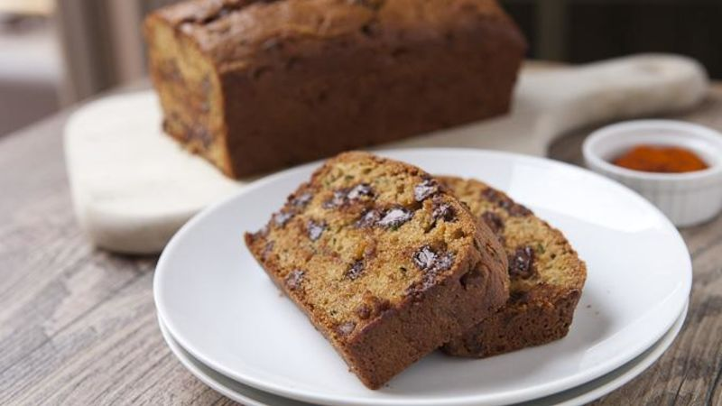 Spicy Chocolate Zucchini Bread