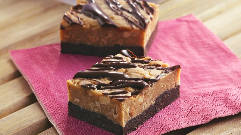 No-Bake Chocolate-Peanut Butter Candy Bars