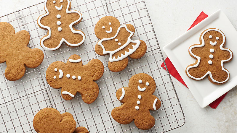 Easy Gingerbread Cookies Recipe Pillsbury Com