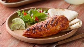 Grilled Taco-Barbecue Chicken