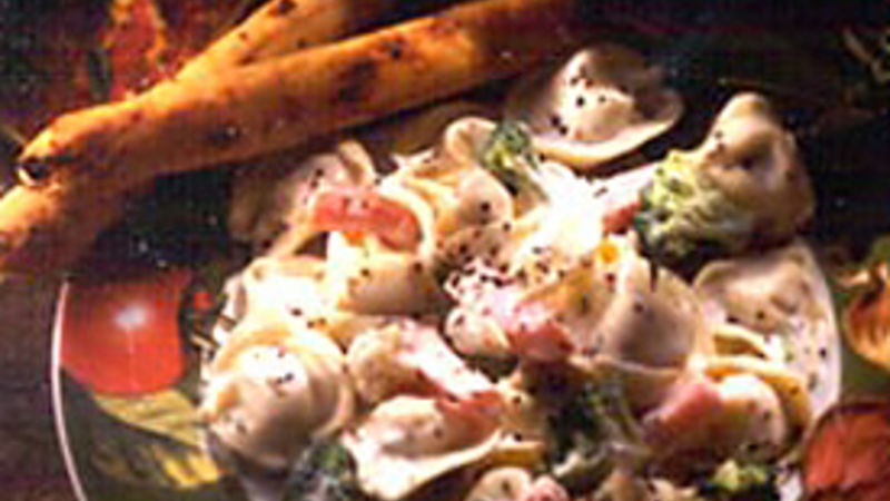 Garlic-Herb Vegetable Tortellini