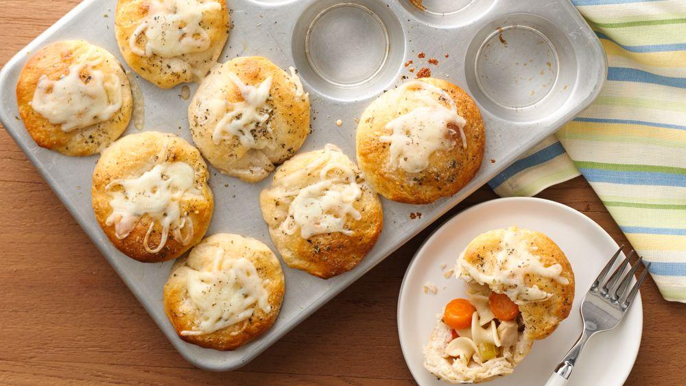mini chicken pie recipe puff pastry