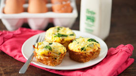 Mini Potato Quiche Cups