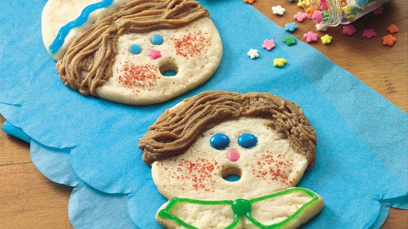 Caroling Kids Cookies