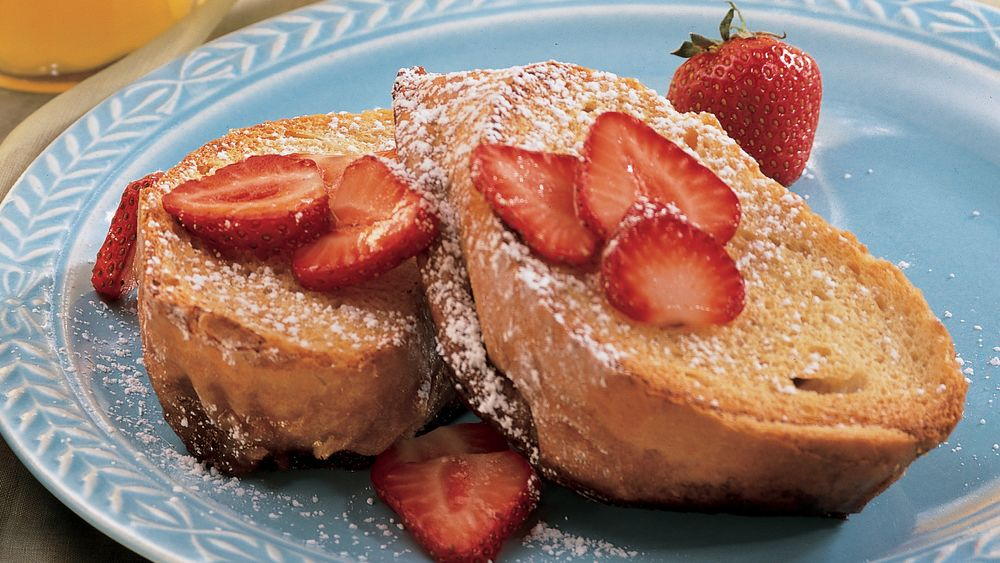 Overnight Maple French Toast