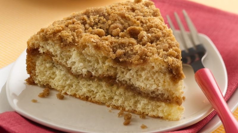 Butter Streusel Coffee Cake Recipe
