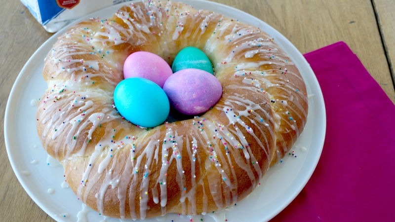 Lemon Easter Bread