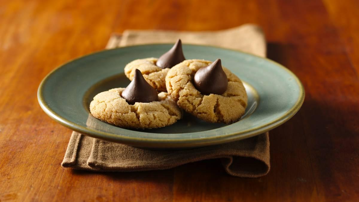 Gluten-Free Bisquick™ Peanut Butter Blossoms