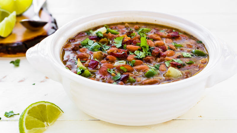 Slow-Cooker Drunken Beans