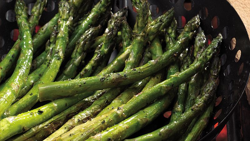 Lemon-Pepper Grilled Asparagus