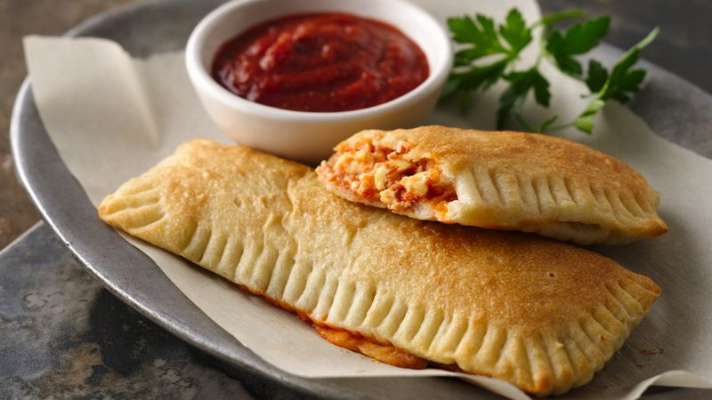 Two-Cheese Calzones