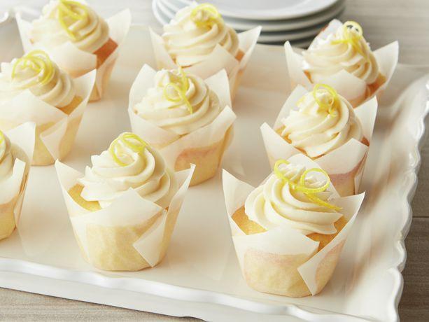 Lemon Mascarpone Crème Cupcakes