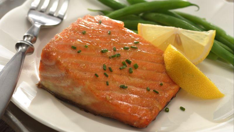 Brown Sugar Grilled Salmon