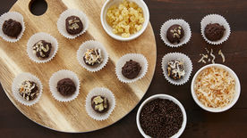 Easy Chocolate Truffle Bites