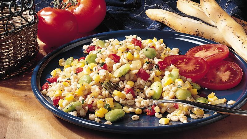 Barley-Vegetable Sauté