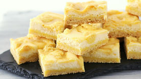 Triple Lemon Cheesecake Swirl Bars