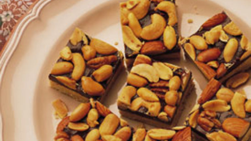 Chocolate Nut Squares