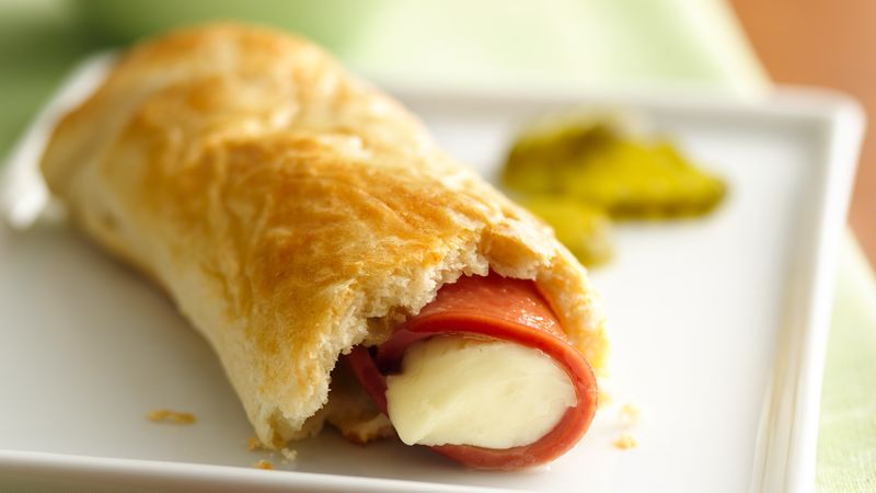 Bologna and Cheese Roll-Ups