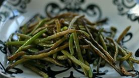 Roasted Balsamic Green Beans