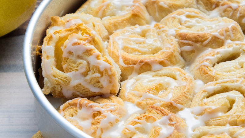 Lemon-Cream Cheese Pinwheels