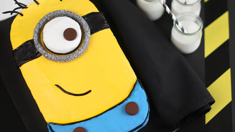 Minion Sheet Cake Recipe BettyCrockercom