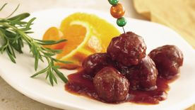 Easy Slow-Cooker Cranberry Barbecue Meatballs