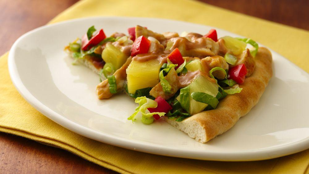 Asian Chicken Salad Pizza