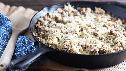 French dinner recipes bettycrocker one pot french onion soup rice skillet forumfinder Gallery