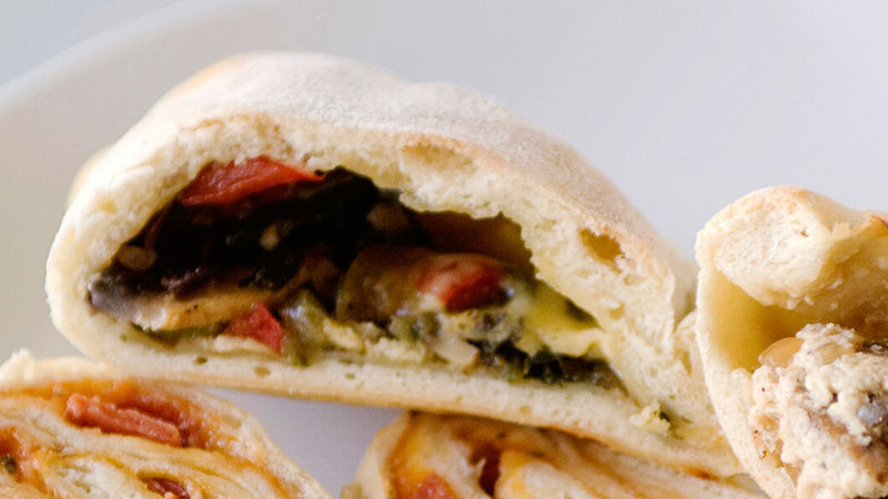 Veggie Calzones Recipe Bettycrockercom