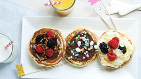 Back to School Pancake Bar